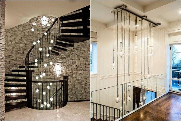 Дизайн лестничного пролета в доме фото