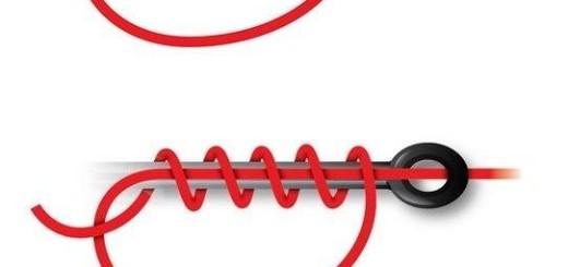 как правильно завязывать крючки на плетенку