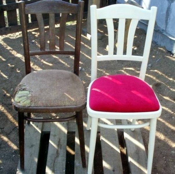 Реставрация советских стульев своими руками фото