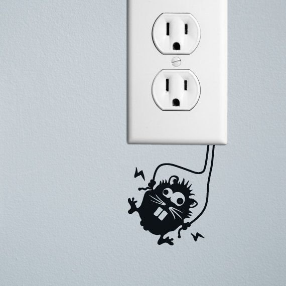 Рисунок на выключатель