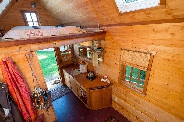 Прекрасная идея маленького домика для дачного участка - MEGA-BITVA.RU