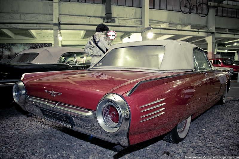 музей американских концепт автомобилей