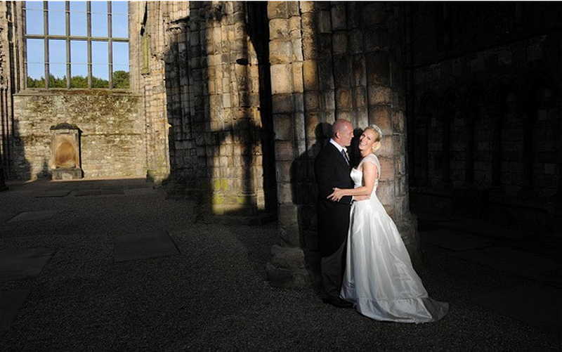 Holyrood palace wedding